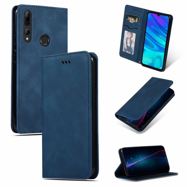 Para Huawei P Smart 2019 Funda Cool Cute Cover Slim Flip Luxury Funda de cuero original para Huawei P Smart 2019 / Mate 30 Lite