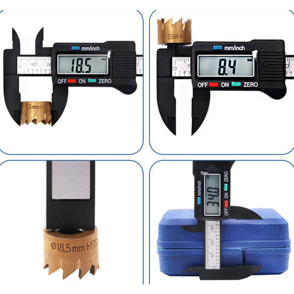 top popular Vernier Caliper Gauge Micrometer Measuring Tool Digital Electronic Accurately Carban Fiber LCD Multi Color 150 mm 2020