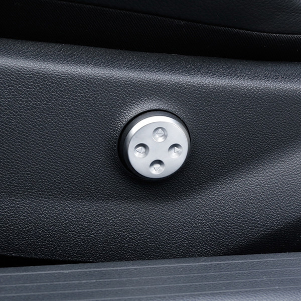 크롬 자동차 좌석 커버 패널 트림 메르세데스 벤츠 A B C E 클래스 GLC GLA GLE CLA CLS W205 W213 쿠페 W207 스위치 조정
