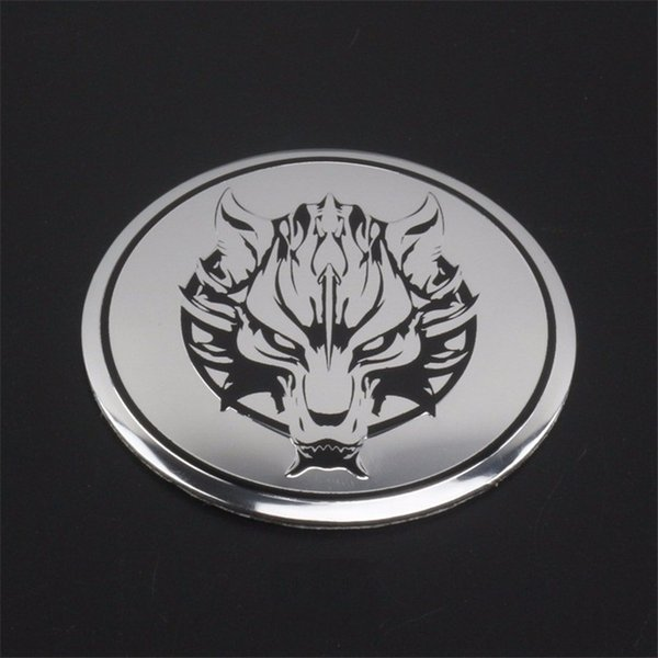 automobile car styling Steering wheeled cover decorative auto replacement parts covers modification wheel hub center 3D sticker