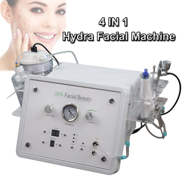 MINI hydra facial machine hydro microdermabrasion water peeling dermabrasion bio lifting face machine ultrasonic face cleanser for home use