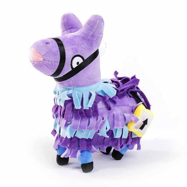 21cm Fortress night Llama Figure Doll Troll Stash Soft Stuffed Animal plush toys Stash Llama Plush cartoon Stuffed doll sofa Toy zx03