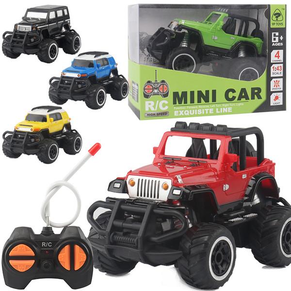 Kinder Vier-Wege-Fernbedienung Auto elektrische drahtlose Fernbedienung Geländewagen Modell Junge RC Spielzeugauto