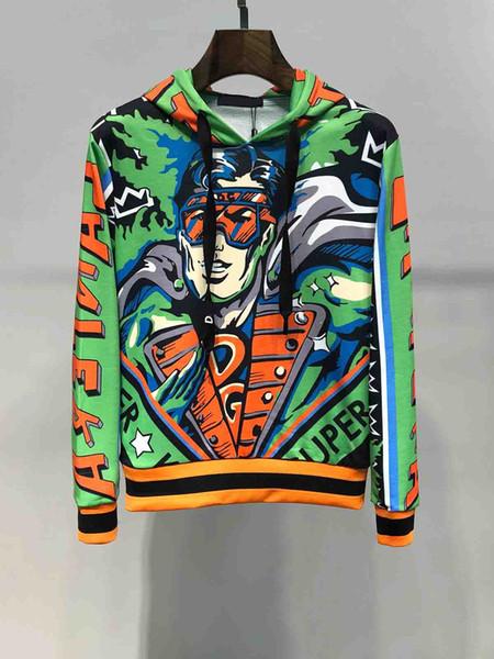 Sudaderas con capucha DG para hombre diseñador tendencia marca hombre sudadera con capucha Street hip hop suéter Dolce male Gabbana tops jersey de impresión de venta caliente de alta calidad