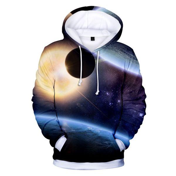Space Galaxy casual 3d hoodies pullover uomo donna Felpa con cappuccio felpa a maniche lunghe con cappuccio felpa con cappuccio e taglie forti