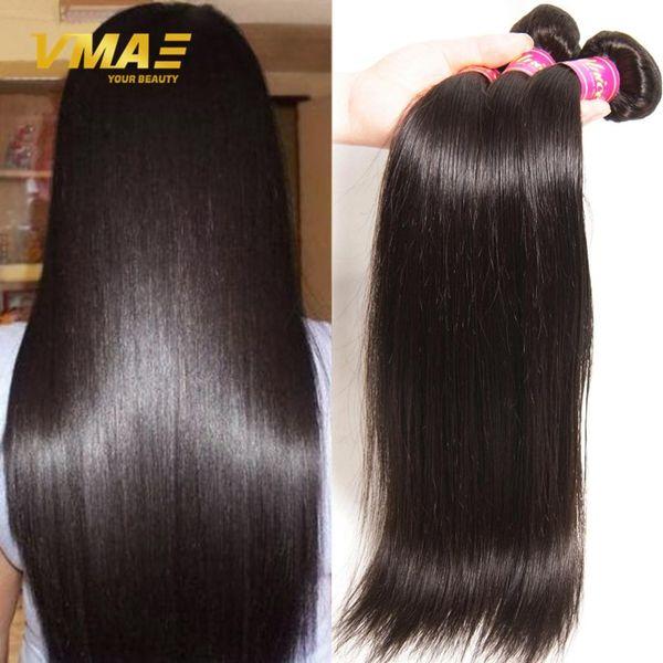 8A Peruvian Virgin Hair extensions Straight Human Hair weaves Unprocessed Peruvian Straight Virgin Hair DHgate Free Shipping