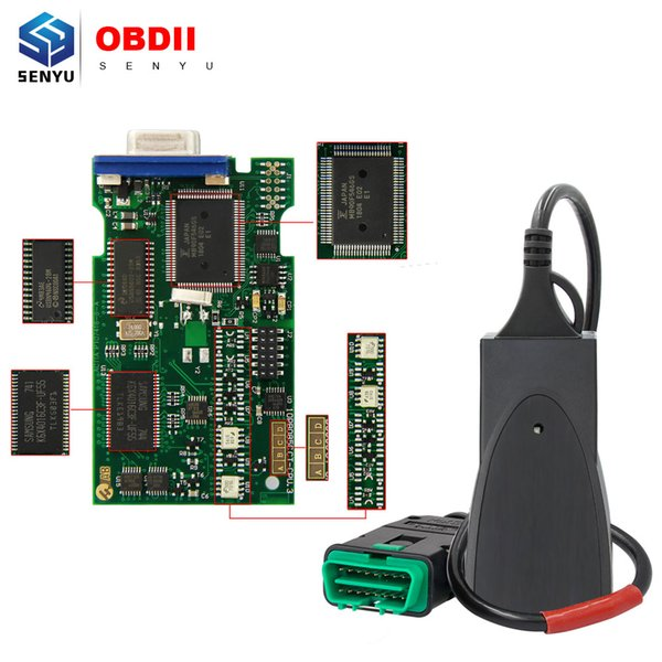 2018 Lexia3 PP2000 921815C Chip Diagbox V7.83 Lite Version OBD OBD2 Diagnostic Tool Lexia 3 PP2000 For Citroen/Peugeot Scanner
