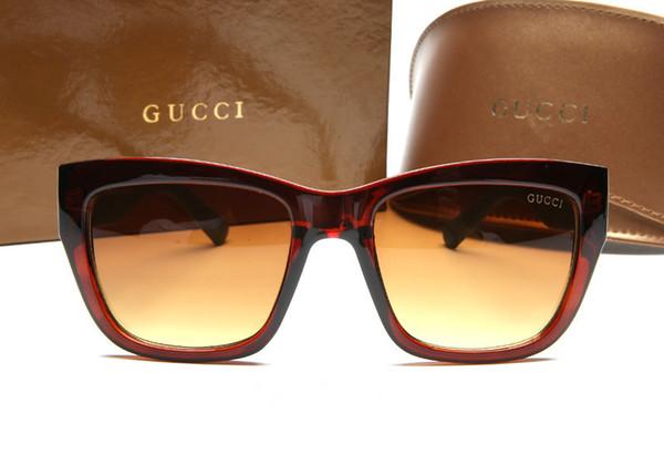 5a96d01996b82 Marka Yeni Tasarımcı Lüks Kaliteli Güneş Gözlüğü Bayan Güneş Gözlüğü Moda  UV Koruma Tam Çerçeve Erkek