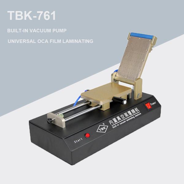 TBK-761 intégré Pompe à vide Universal OCA Film plastifier OCA Laminator pour téléphone mobile LCD tactile de réparation d'écran