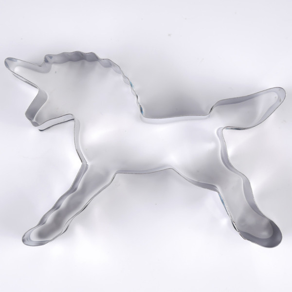 Unicorn Horse Cookies Cutter Mold Cake Decorating Biscuit Pastry Baking Mould Free Shipping