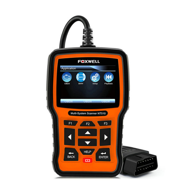 FOXWELL NT510 Full System OBD2 Scanner ABS SRS Airbag EPB Oil Service Reset ODB2 Automotive Diagnostic Tool