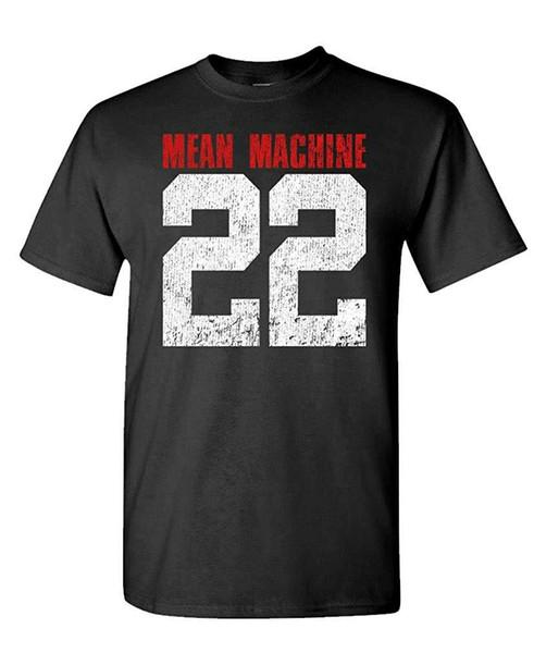 Mean Machine 22 - Yard MMA Martial Football - Mens Cotton T-Shirt