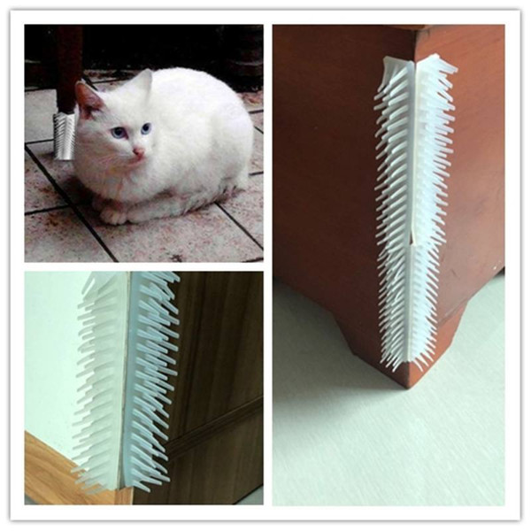 Pet Cat Massage Toys Self Grooming Brush Wall Corner Adjustable Massage and Hair Remover Free Hand Cats Kitten Comb