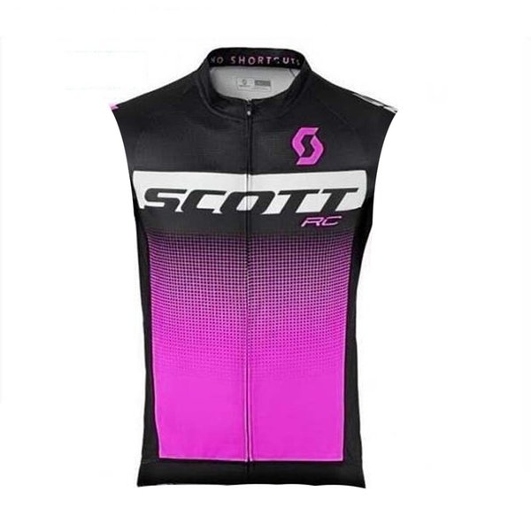 2019 New Summer Scott Cycling Jerseys Breathable Cycle Clothing Quick Dry Bike shirts Mens sleeveless Bicycle Vest Sports Uniform K061304