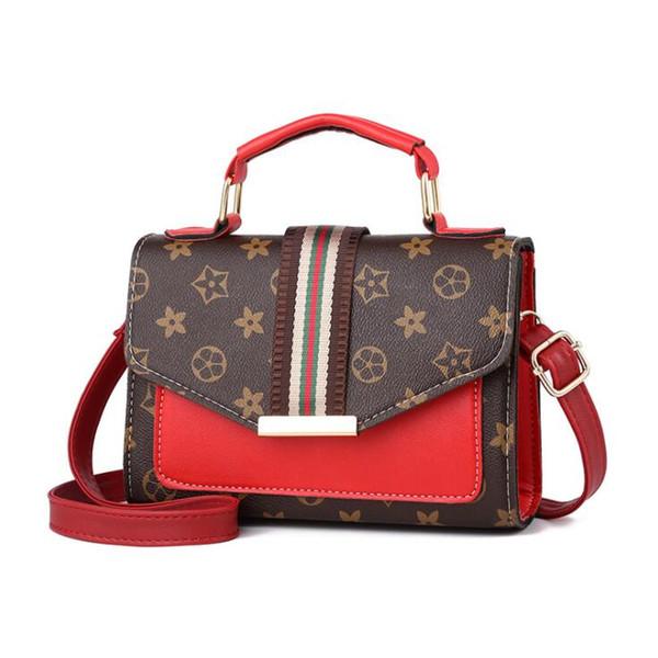 2019 Moda casual donna borsa Borse a mano lady Mini borsa Cross Body Shoulder Bags Borse PU di alta qualità Borsa per cellulare Tote RA4