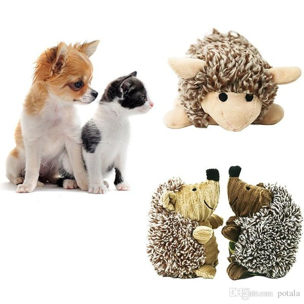 Bear Plush Toys Stuffed&Plus Animals Lovely Hedgehog Colorful Sheep plush doll bouquet gift toy for children Home wedding Decor interactive
