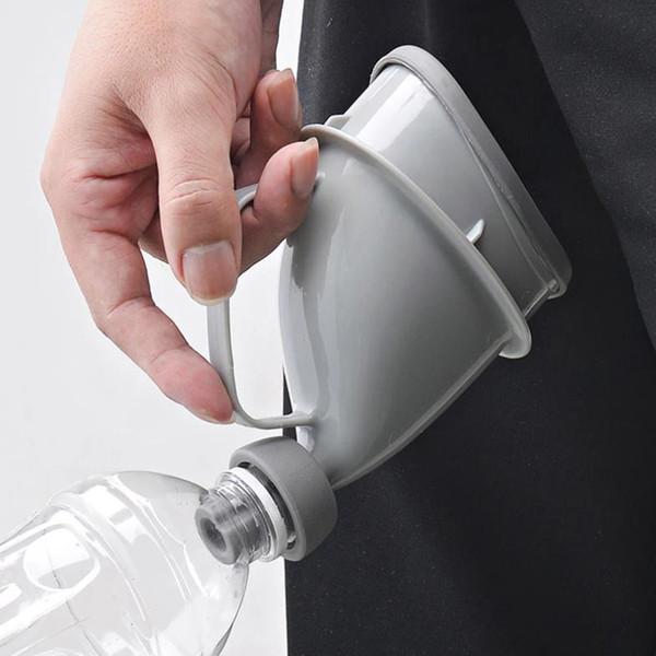 Портативный автомобиль путешествие Взрослых Писсуары Пластиковых бутылок Горшок Воронка сцание Кемпинг Туалет Multi-функция для наружного использования в чрезвычайных ситуациях