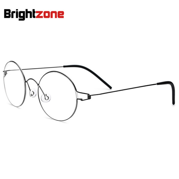 No Screw Ultra-light Titanium Transparent Men's Glasses Spectacle Frame Eyeglasses Oculos De Grau Brillen Anteojos