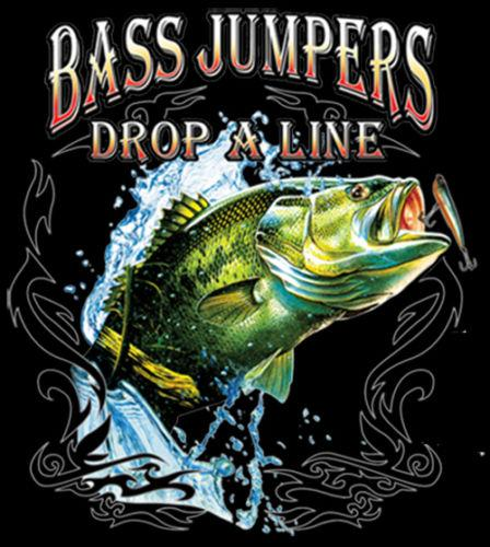 Saltadores baixos Soltar A Linha de Pesca T-Shirt Tee Homens Mulheres Unisex Moda tshirt Frete Grátis
