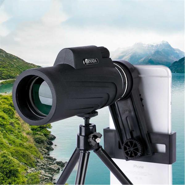 PANDA 12x50 monocular high-definition night vision mobile phone camera telescope