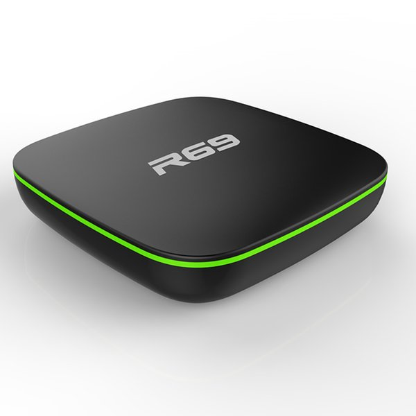 R69 2GB 16G Android 7.1 Smart android tv box Allwinner H3 Quad-core 2.4G wifi set top box pk X96 media player