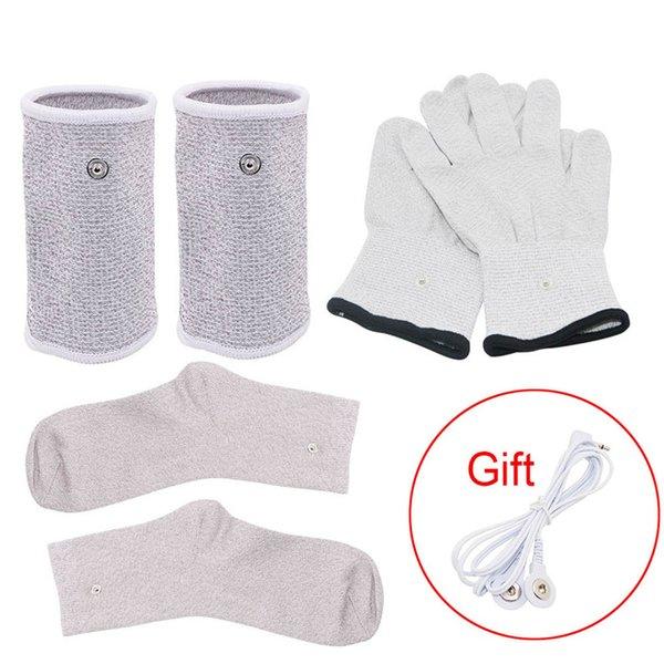 Handschuhe Armschienen Socke
