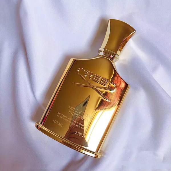 2018 Hot Golden versão Creed Millesime Imperial fragrância Unisex perfume para homens mulheres 100 ml cheiro perfeito frete grátis