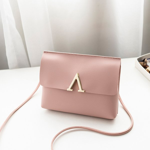 Cheap Fashion women's pack Candy Color One Shoulder leisure Small Messenger Bag Mobile Phone Bags luxury Purse for woman 2019