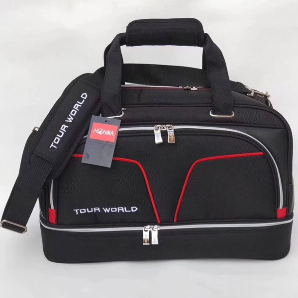 top popular Latest HONMA Golf Boston Bags Good Quality Golf Duffel bag for Clothes and Shoes 2019