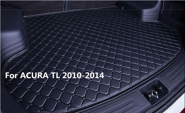 Waterproof Car Rear Cargo Boot Trunk Cargo liner Mat Pad For ACURA TL 2010-2014