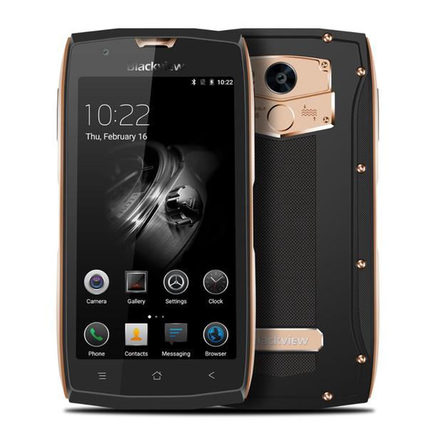 "IP68 Waterproof Blackview BV7000 4G LTE 2GB 16GB 64-Bit Quad Core MTK6737T Android 7.0 5.0"" IPS 1920*1080 FHD Fingerprint NFC GPS Smartphone"