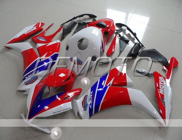 New Injection Mold ABS motorcycle Fairings Kits+Tank cover Fit For HONDA CBR1000RR 12-16 2012 2013 2014 2015 2016 body custom red white blue