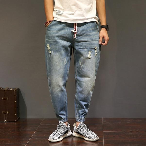 Jeans Men Plus Size Demin Jeans Slim Fashion For Mens