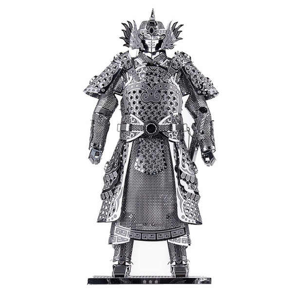 Diy Piececool Metal Toy Educational Models Warriors Armor P049-s Orignal Design 3d Puzzle Kids Toys Q190530
