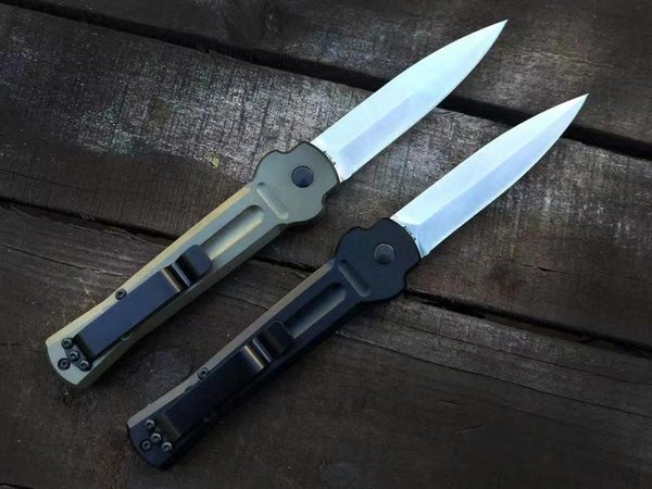 New Italian AC X-treme aviation aluminum alloy handle camping Collecting hunting knife knives copies 1pcs