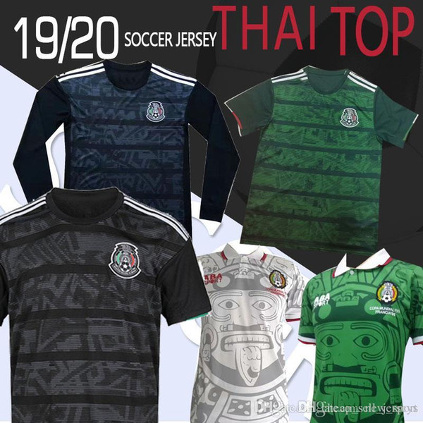 Mexico Jersey 2020 World Cup.2019 Thailand Top Retro 2019 2020 Mexico World Cup 1998 Classic Vintage Soccer Jerseys Hernandez Blanco Home Football Mexico Retro Jersey From