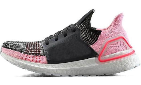 2019 Ultra 5.0 Ultraboost 19 Uomo Donna Scarpe da corsa Laser Rosso Scuro Pixel Refract Core Sneakers da allenamento nere di design 08