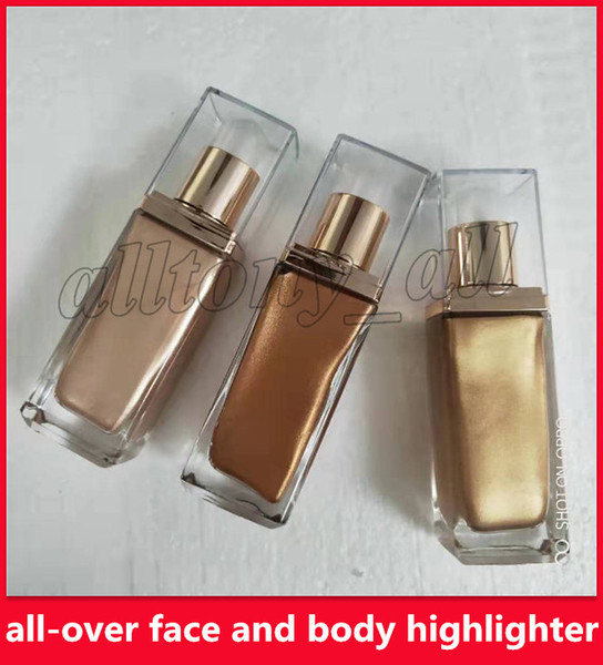 best selling Famous Beauty Brand Aphrodite Aurora Luna highlighter all-over face and body highlighter Mix foundation for coverage that glows DHL free