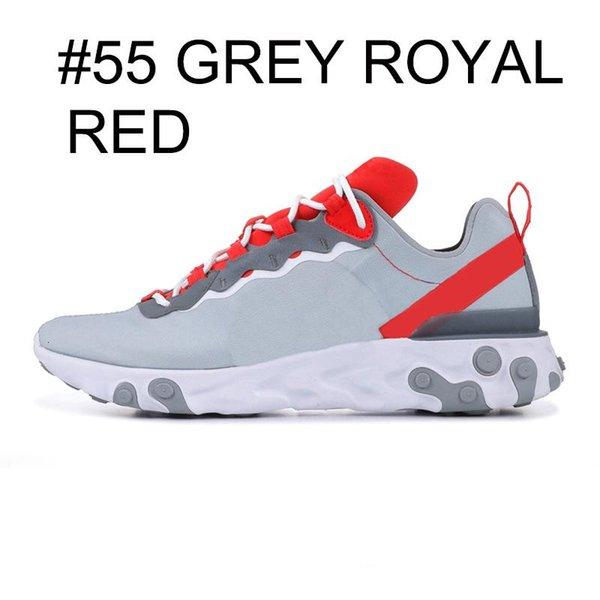 grey royal red