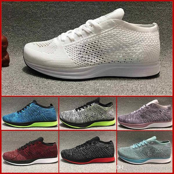 2019 RACER мужчин и повседневная обувь женщин, высокое качество дышащей моды черные и серые туфли размер 36-45 свободная перевозка груза