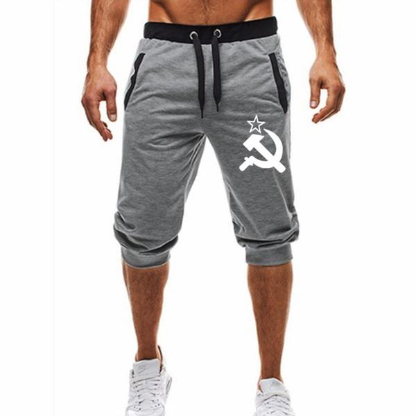 2019 Yaz Sıcak Yeni Yeni Marka tasarım Moda Şort Erkekler 2019 Erkek Rahat Şort Erkek Jogging Yapan Hommes Artı Boyutu M-3XL