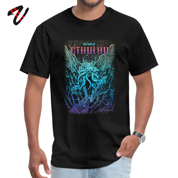 T-shirt Gothique Personnalisé T-shirts Un Cauchemar Beast Call Of Cthulhu T-shirt Plus La Taille Hommes Graphique Tops T-shirts 100% Coton