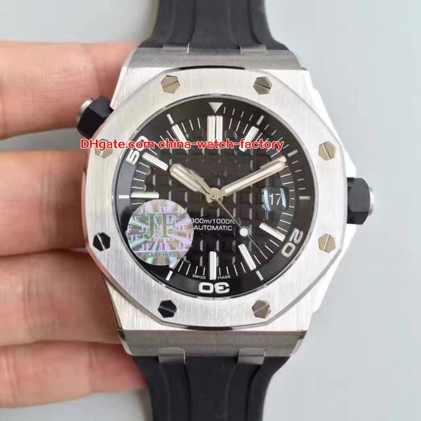 3 Style Best Quality Top J V2 42mm Offshore Diver 15710 15703 15710ST.OO.A002CA.01 Swiss CAL.3120 Movement Automatic Mens Watch Watches
