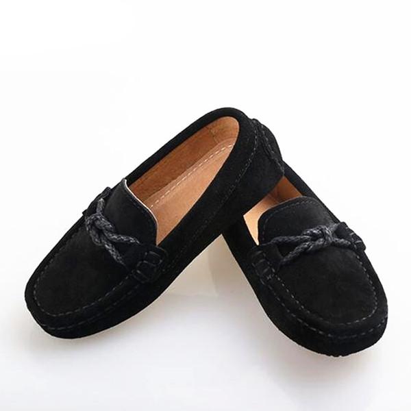 salida en línea liberar información sobre estilos frescos Compre Nuevos Zapatos De Cuero Genuino Mocasines Para Niños ...