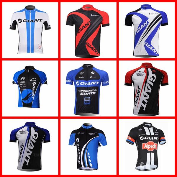 GIGANTE equipo Ciclismo manga corta jersey bicicleta carreras ropa deportiva ciclismo ropa transpirable verano Sportshirt desgaste 51516