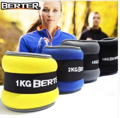 2pc/1pair 1kg Leg Ankle Weights Straps wrist weight Strength Training Exercise Fitness Equipment For Running Basketball Football #17766