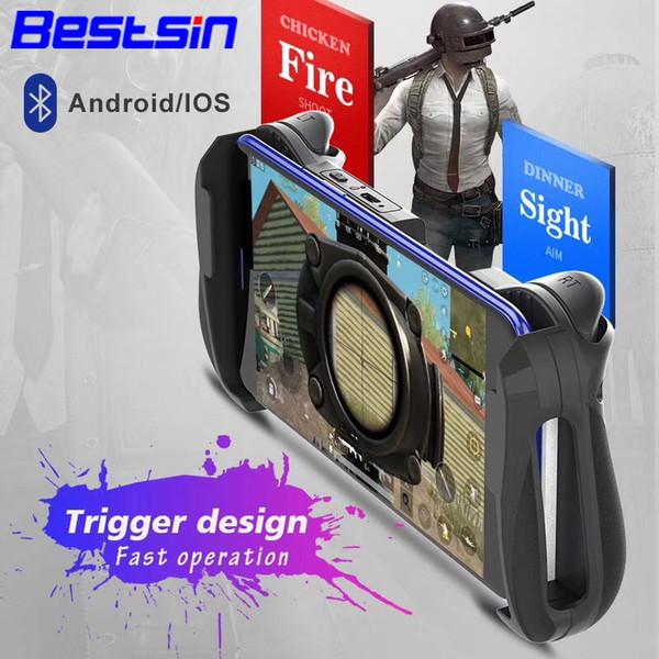 Bestsin MOCUTE 057 Bluetooth 4.0 Gamepad PUBG Controller PUBG Mobile Löst Joystick Wireless Joypad Für iPhone XS Für Android Tablet