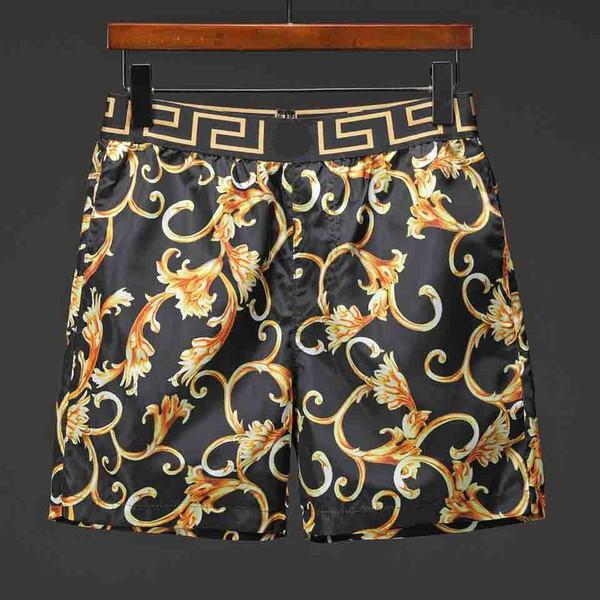 2019 Edición especial de lujo Diseñador de moda para hombre Pantalones de playa Traje de baño Pantalones cortos para hombre Pantalón de chándal Pantalones de nadar