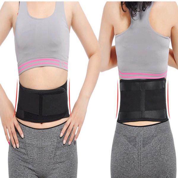 Adjustable Waist Tourmaline Self heating Magnetic Therapy Back Waist Support Belt Lumbar Brace Massage fever Medical waist #256185