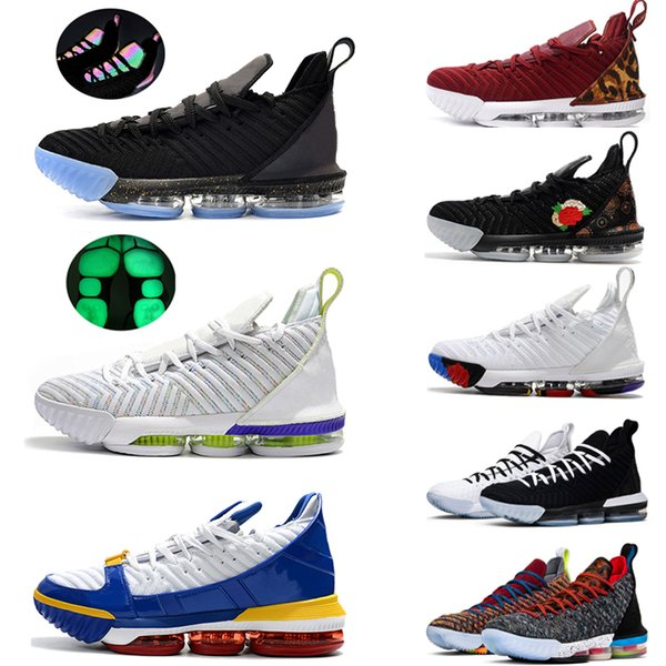 2019 New 16 16s Men Basketball Shoes Equality Oreo Court Purple Fresh Bred What The Mens Trainer Sports Sneakers 7-12